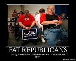 Republican Memes - bigger fatter politics republican memes