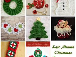 meladoras creations crochet christmas decorations