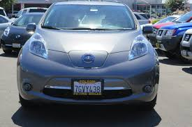 nissan leaf charge time certified pre owned 2015 nissan leaf s hatchback in roseville