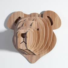 wood sculpture wood design 5mm mdf animal wall