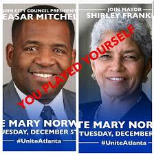 Atlanta Memes - funniest memes of blacks who supported loser mary norwood for