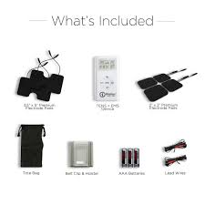 What S Included Buy Tens Ems Unit Muscle Stimulator Combo Tens U0026 Ems Pain Relief