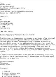 awesome example of cover letter for it job application 59 for