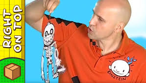 crafts ideas for kids skeleton piece drawing diy on