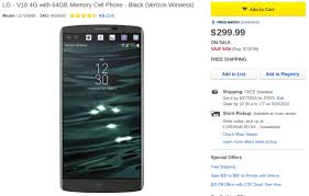 best 2016 black friday unlocked cell phone deals deal alert get a verizon unlocked lg v10 for just 299 99 430