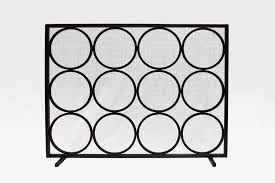 commune product commune circle fireplace screen