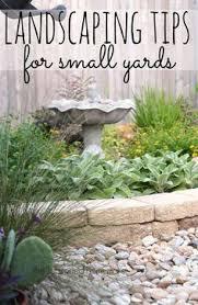 Small Yard Landscaping Ideas 8 Ways To Make Your Small Yard Look Bigger Backyard Yards And