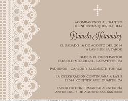 Wedding Invitations In Spanish Baptism Invitations In Spanish U2013 Gangcraft Net