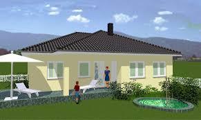 Winkelbungalow Winkelbungalow 1 Mit Walmdach Und überdachter Terrasse Richter Haus