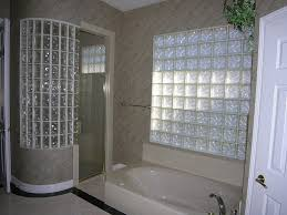 Bathroom Shower Windows by Bathroom Glass Block Shower Design Ideas Glass Block Shower