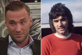 paddy mcguinness hair transplant george best s son calum i found out dad was having liver
