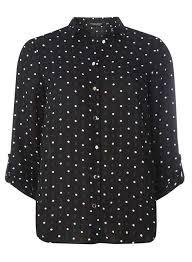 black polka dot blouse black polka dot geometric print shirt view all sale sale