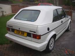 volkswagen golf 1989 1989 volkswagen golf 1 8 gti cabriolet convertible cab white