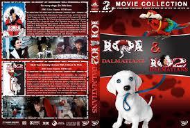 101 102 dalmatians double feature dvd cover 1996 2000 r1 custom