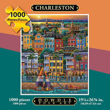 eric dowdle folk art puzzles jigsaw puzzles for adults