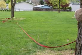 Backyard Slackline Without Trees Rigging A Slacker U0027s Blog