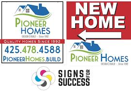 new logo design spokane unifies custom signs and van wrap signs