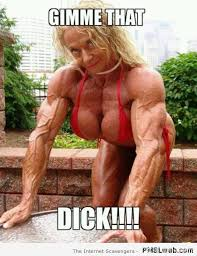 Muscle Woman Meme - 12 women that might have tried steroids
