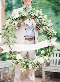 wedding wreaths picture of diy wedding ceremony wreath