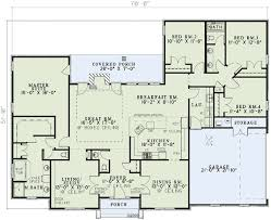 4 bedroom house floor plans plan 59068nd neo traditional 4 bedroom house plan neo traditional
