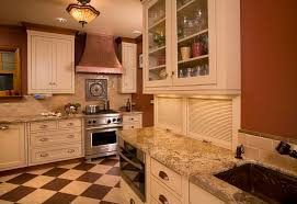 copper kitchen appliances kitchen traditional with accent tiles