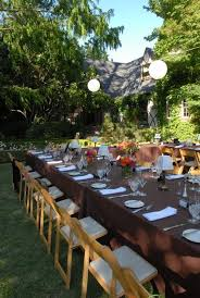 Small Backyard Reception Ideas Real Weddings Bonnie And Kevin U0027s Delightful Garden Wedding