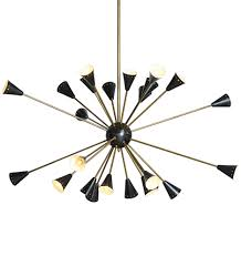 Sputnik Light Fixture by 24 Light Italian Stilnovo Style Sputnik Chandelier Rejuvenation