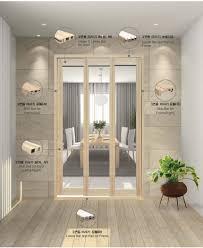 Soundproof Interior Door Pvc 3 Sliding Door Interior Door From Kumo Hi Tech Co Ltd B2b