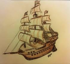 pirate ship sketch by baraayas on deviantart