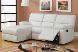 White Leather Recliner Sofa Captivating White Leather Recliner Sofa Baochi Lazy Boy Leather