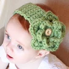 crochet baby headband crocheted baby headband with detachable flower ladylion co
