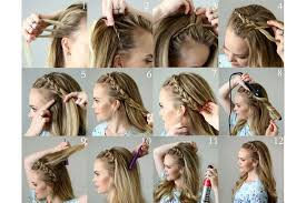 find a hairstyle using your own picture step by step pictures of ideas to braid your own hairs for