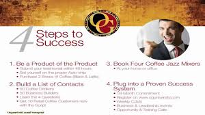 Organo Gold Business Cards Organo Gold 4 Steps To Success Youtube
