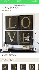 168 best objets d art images on pinterest ballard designs spell a name an inspiring word or use a single letter as a monogram for your wall