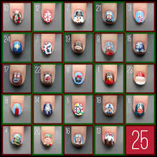 christmas present nail art tutorial nail art ideas christmas