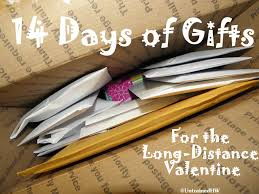 days gifts 14 days of gifts for the distance