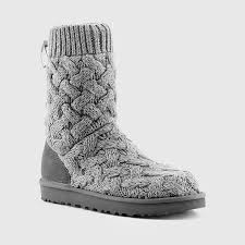 ugg s isla boots heathered grey