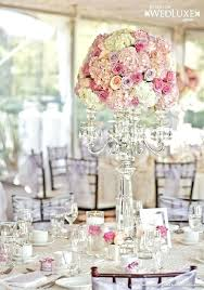 candelabra centerpieces luxury pink and lavender wedding flower candelabra centerpiece