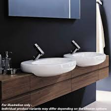 2 Basin Vanity Units Laufen Il Bagno Alessi One 120cm Vanity Unit For Semi Recessed Basin