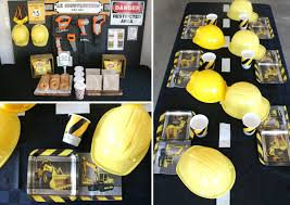 construction party ideas boys party ideas at birthday in a box
