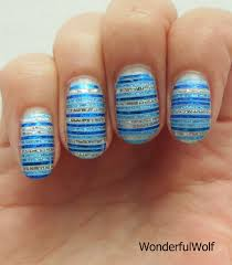 striping tape nail art u2013 wonderfulwolf