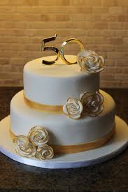 50th wedding anniversary ideas 11 golden 50th anniversary cakes photo black and gold 50th