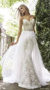 Vintage Ball Gown Strapless Tulle Wedding Dress With Detachable Top 100 Most Popular Wedding Dresses In 2015 Part 2 U2014 Sheath Fit
