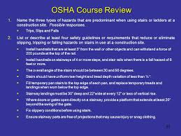 Handrail Requirements Osha Fall Protection For Construction Class 5 Ppt Download