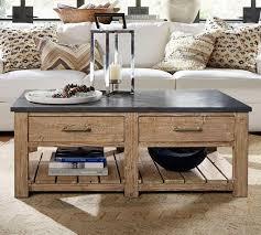 coffee table shadow box coffee table pottery barn home design and