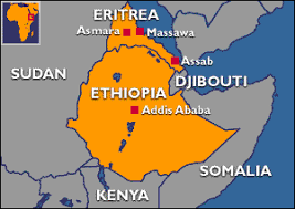 africa map eritrea is a scale war imminent between and eritrea