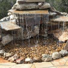 Backyard Water Fountain by Sweet Rocky Water Feature For Decorating Your Classy Backyard