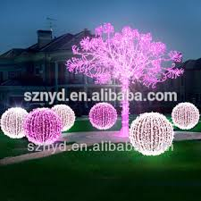 fashionable umbrella tree white outdoor lighted