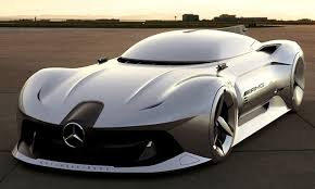 mercedes benx the 2040 mercedes streamliner is a jet powered concept