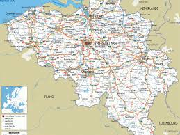 Map Of France With Cities by Map Of France And Belgium With Cities Major Tourist Attractions Maps